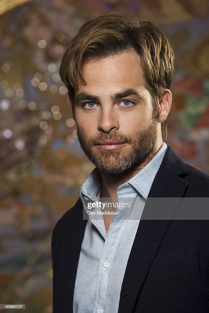 Actor <a gi-track='captionPersonalityLinkClicked' href=/galleries/search?phrase=Chris+Pine&family=editorial&specificpeople=641995 ng-click='$event.stopPropagation()'>Chris Pine</a> is photographed for USA Today on January 10, 2014 in Beverly Hills, California.