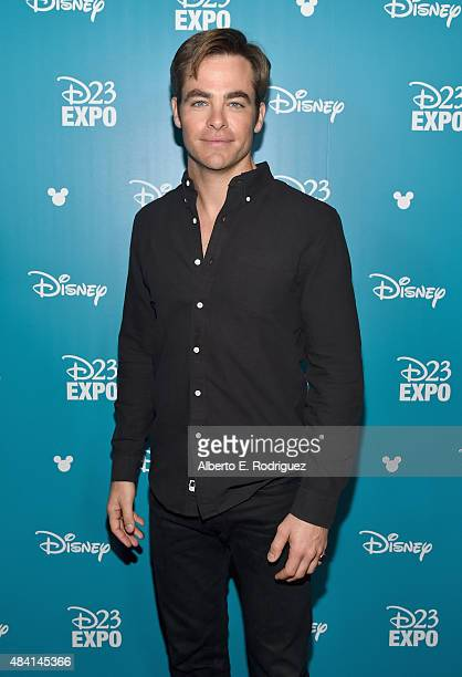Actor Chris Pine of THE FINEST HOURS took part today in 'Worlds Galaxies and Universes Live Action at The Walt Disney Studios' presentation at...