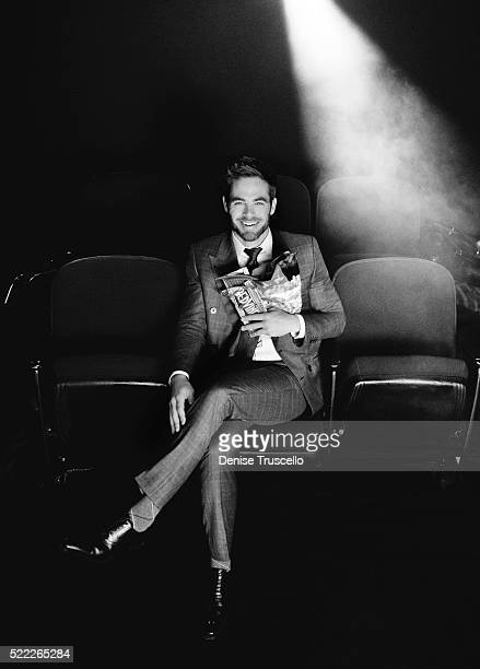 Actor Chris Pine poses for a portrait at CinemaCon 2013 on April 18 2013 in Las Vegas Nevada