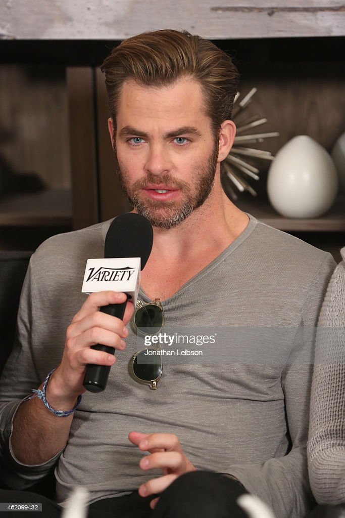 Actor Chris Pine speaks at the The Variety Studio At Sundance Presented By Dockers on January 24 2015 in Park City Utah