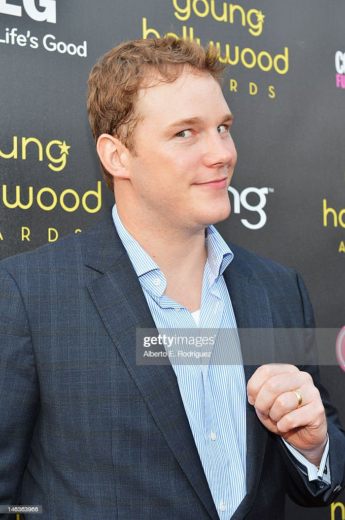 Actor <a gi-track='captionPersonalityLinkClicked' href=/galleries/search?phrase=Chris+Pratt+-+Actor&family=editorial&specificpeople=239084 ng-click='$event.stopPropagation()'>Chris Pratt</a> arrives at 14th Annual Young Hollywood Awards presented by Bing at Hollywood Athletic Club on June 14, 2012 in Hollywood, California.