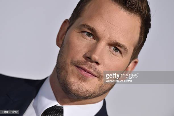 Actor Chris Pratt arrives at the premiere of Columbia Pictures' 'Passengers' at Regency Village Theatre on December 14 2016 in Westwood California