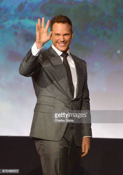 "Actor Chris Pratt at The World Premiere of Marvel Studios' ""Guardians of the Galaxy Vol 2"" at Dolby Theatre in Hollywood CA April 19th 2017"