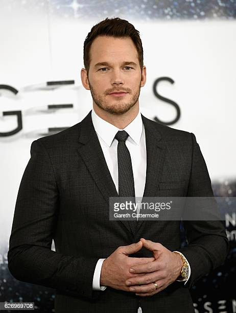 Actor Chris Pratt attends a photocall for the film 'Passengers' at Claridge's Hotel on December 1 2016 in London England