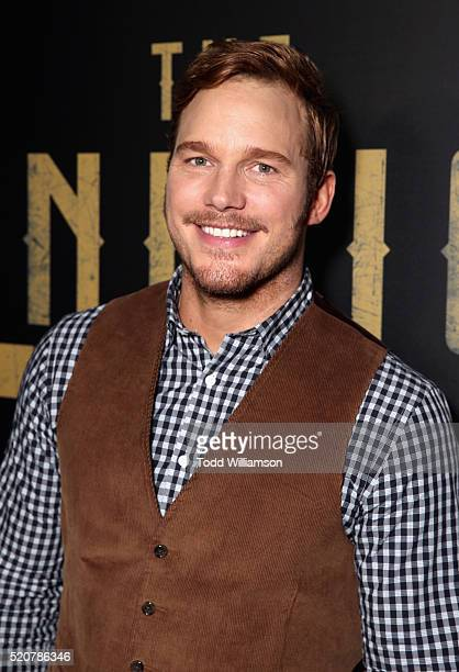 Actor Chris Pratt attends CinemaCon 2016 An Evening with Sony Pictures Entertainment Celebrating the Summer of 2016 and Beyond at The Colosseum at...