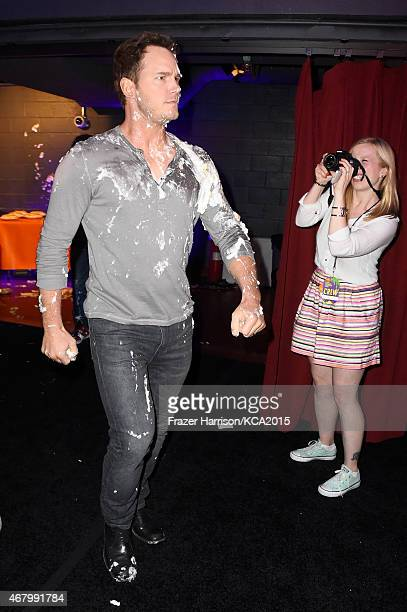 Actor Chris Pratt attends Nickelodeon's 28th Annual Kids' Choice Awards held at The Forum on March 28 2015 in Inglewood California