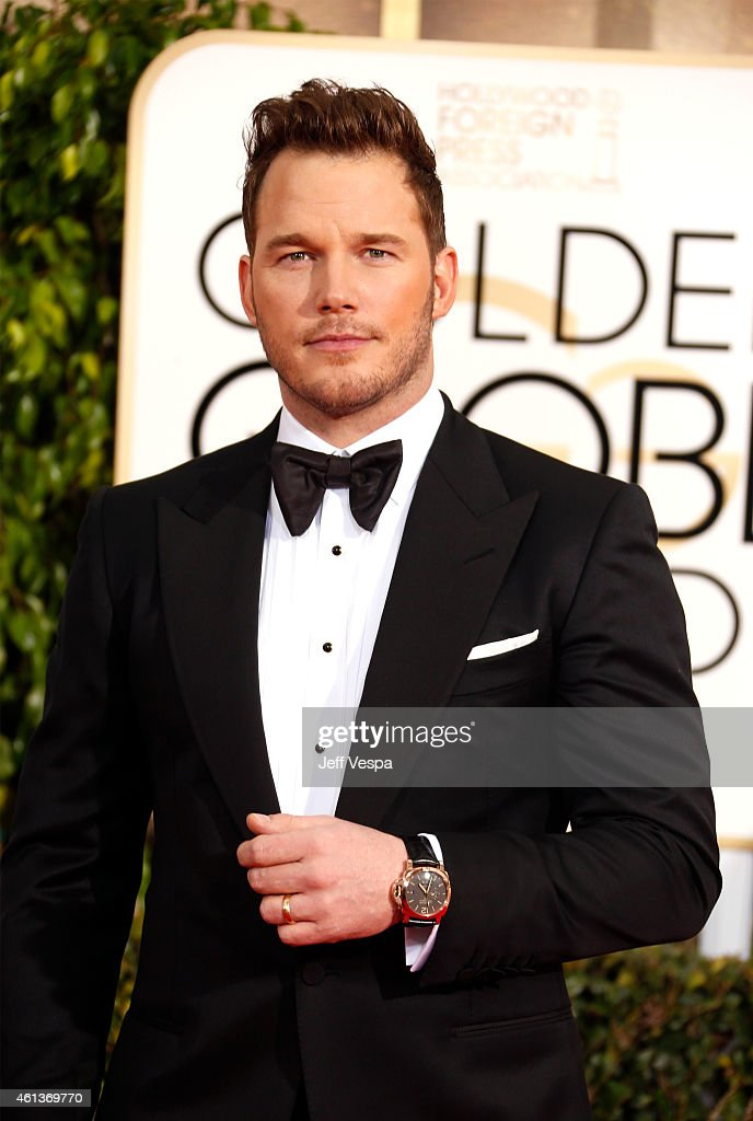 Actor Chris Pratt attends the 72nd Annual Golden Globe Awards at The Beverly Hilton Hotel on January 11 2015 in Beverly Hills California