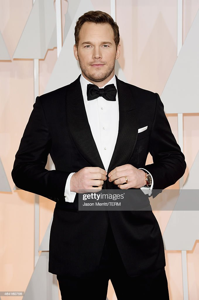 Actor Chris Pratt attends the 87th Annual Academy Awards at Hollywood Highland Center on February 22 2015 in Hollywood California