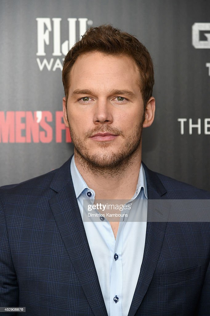 Actor <a gi-track='captionPersonalityLinkClicked' href=/galleries/search?phrase=Chris+Pratt+-+Actor&family=editorial&specificpeople=239084 ng-click='$event.stopPropagation()'>Chris Pratt</a> attends The Cinema Society with Men's Fitness and FIJI Water special screening of Marvel's 'Guardians of the Galaxy' at Crosby Street Hotel on July 29, 2014 in New York City.