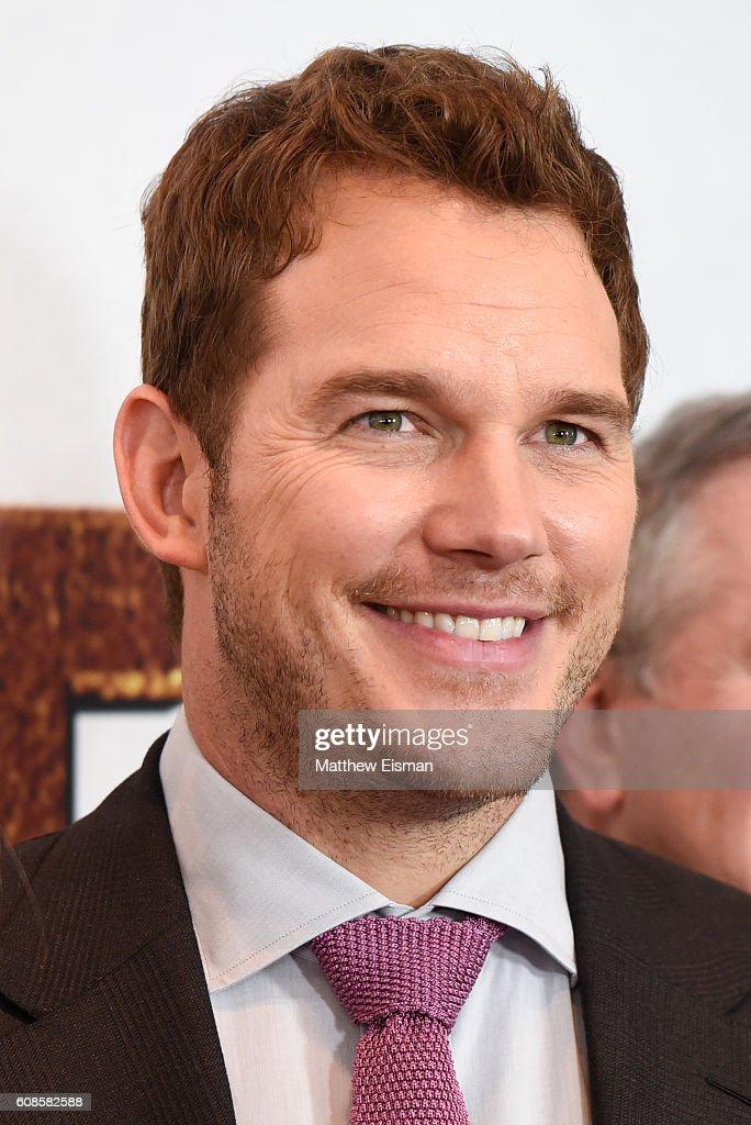 Actor Chris Pratt attends 'The Magnificent Seven' New York Premiere at the Museum of Modern Art on September 19, 2016 in New York City.