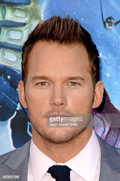 Actor Chris Pratt attends the premiere of Marvel's 'Guardians Of The Galaxy' at the Dolby Theatre on July 21 2014 in Hollywood California