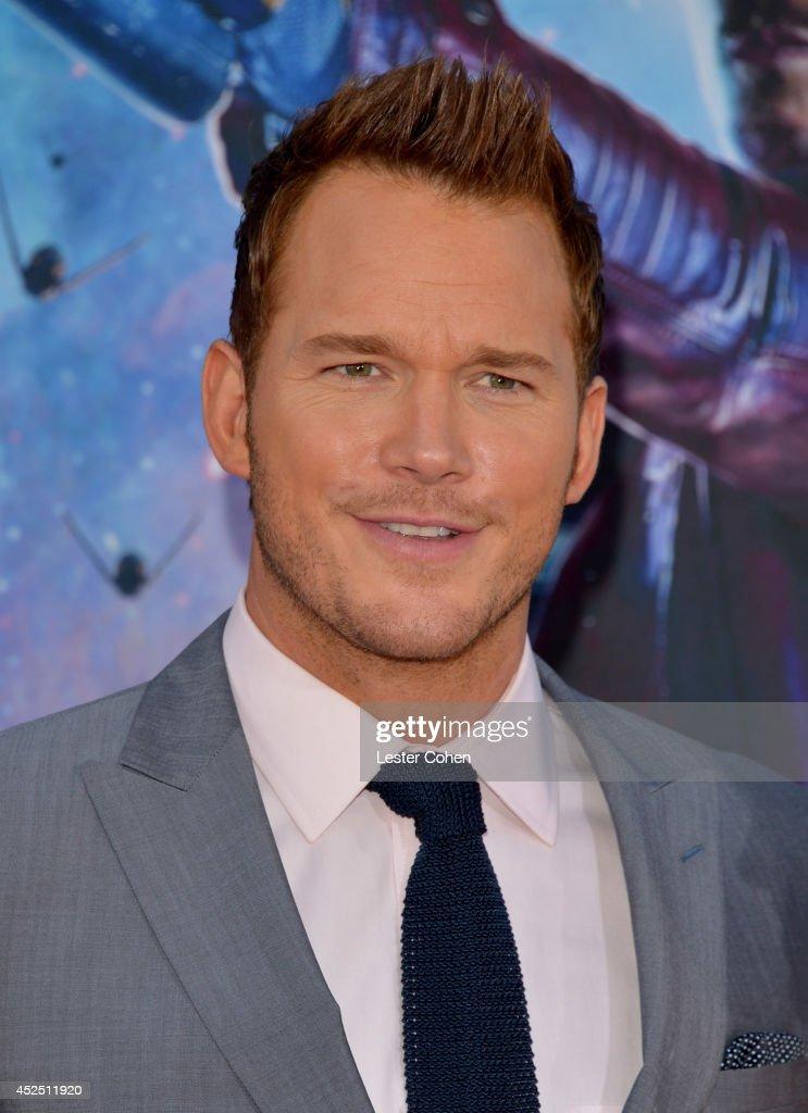 Actor <a gi-track='captionPersonalityLinkClicked' href=/galleries/search?phrase=Chris+Pratt+-+Actor&family=editorial&specificpeople=239084 ng-click='$event.stopPropagation()'>Chris Pratt</a> attends the premiere of Marvel's 'Guardians Of The Galaxy' at the El Capitan Theatre on July 21, 2014 in Hollywood, California.