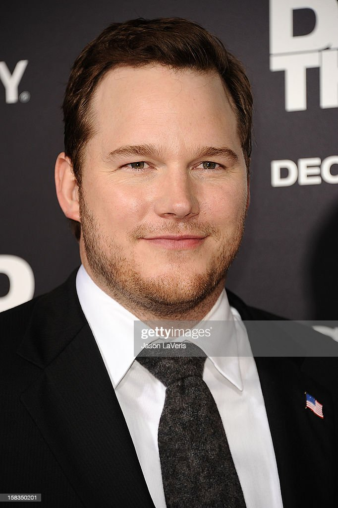 Actor Chris Pratt attends the premiere of 'Zero Dark Thirty' at the Dolby Theatre on December 10, 2012 in Hollywood, California.