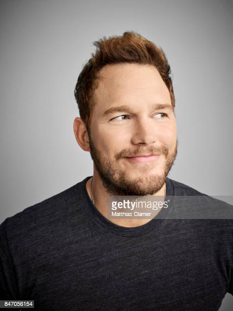 Actor Chris Pratt from 'Guardians of the Galaxy Vol 2' is photographed for Entertainment Weekly Magazine on July 23 2016 at Comic Con in the Hard...