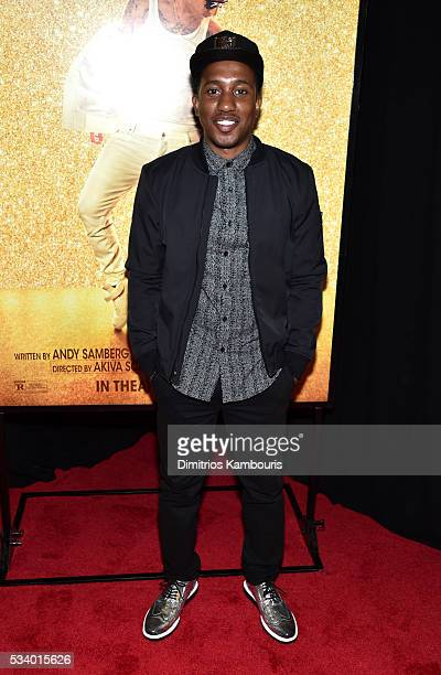 Actor Chris Redd attends 'Popstar Never Stop Never Stopping' premiere premiere at AMC Loews Lincoln Square 13 theater on May 24 2016 in New York City