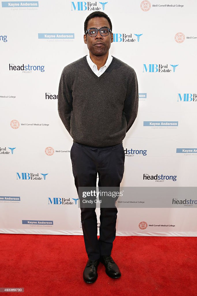 Actor <a gi-track='captionPersonalityLinkClicked' href=/galleries/search?phrase=Chris+Rock&family=editorial&specificpeople=202982 ng-click='$event.stopPropagation()'>Chris Rock</a> attends The Headstrong Project's 3rd annual Words of War event at One World Trade Center on October 19, 2015 in New York City.