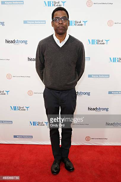 Actor Chris Rock attends The Headstrong Project's 3rd annual Words of War event at One World Trade Center on October 19 2015 in New York City