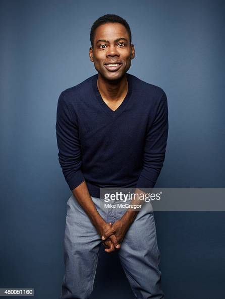 Actor Chris Rock is photographed for The Guardian Newspaper on May 4 2015 in New York City