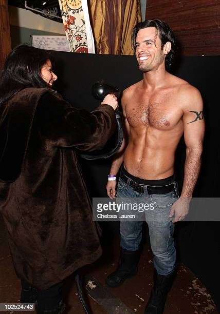 Actor Chris Santos attends Infinity Sun at the Kari Feinstein Sundance Style Lounge on January 24 2010 in Park City Utah