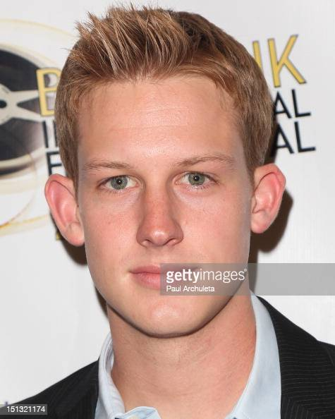 Actor Chris Sheffield attends the...