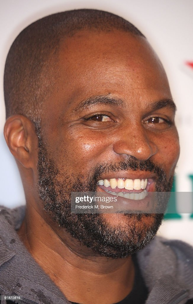 Actor Chris Spencer attends the 'Black Dynamite' film premiere at the Arclight Hollywood on October 13, 2009 in Hollywood, California.