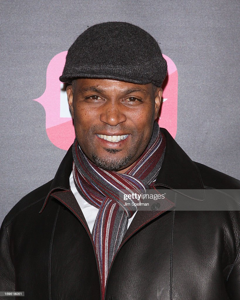 actor Chris Spencer attends the 'Real Husbands Of Hollywood' & 'Second Generation Wayans' screening at SVA Theatre on January 14, 2013 in New York City.