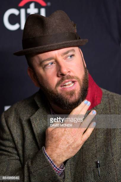 Actor Chris Sullivan attends PaleyFest LA at the Dolby Theatre on March 18 2017 in the Hollywood section of Los Angeles California / AFP PHOTO /...
