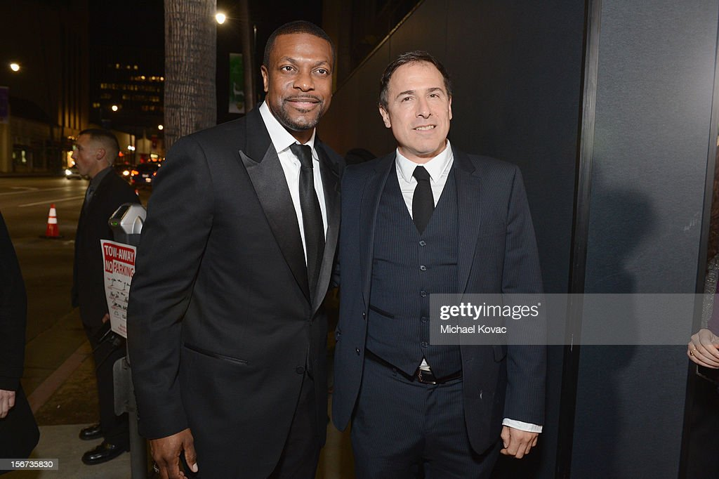Actor Chris Tucker and director David O. Russell attend a special screening of 'Silver Linings Playbook' presented by The Weinstein Company sponsored by Grey Goose and Lexus at AMPAS Samuel Goldwyn Theater on November 19, 2012 in Beverly Hills, California.