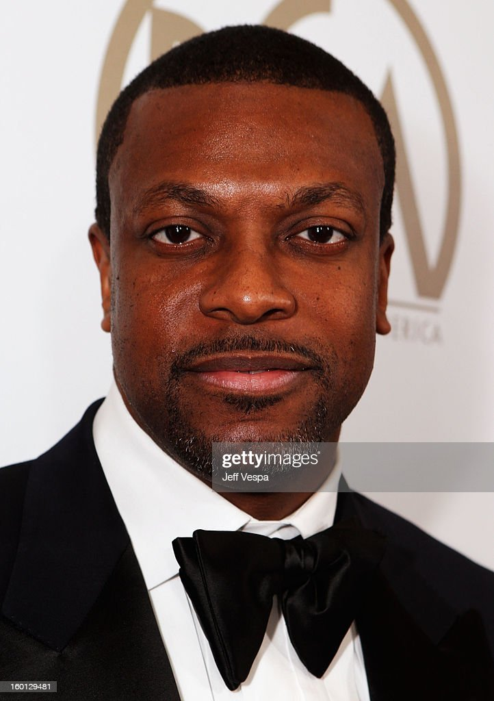 Actor Chris Tucker arrives at the 24th Annual Producers Guild Awards held at The Beverly Hilton Hotel on January 26, 2013 in Beverly Hills, California.