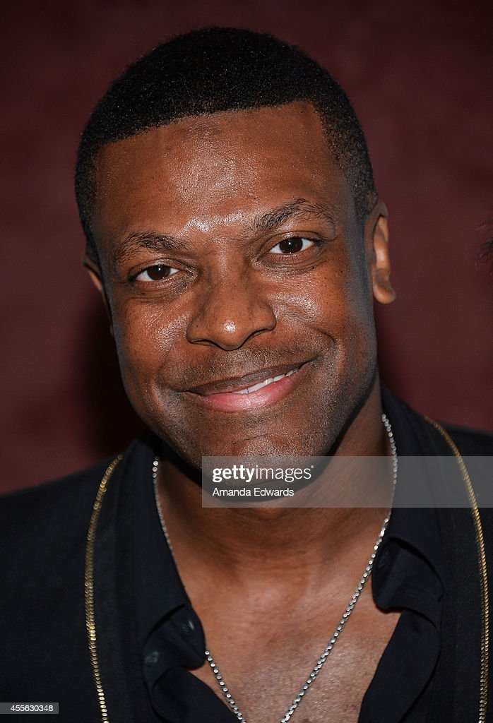 Actor <a gi-track='captionPersonalityLinkClicked' href=/galleries/search?phrase=Chris+Tucker&family=editorial&specificpeople=203254 ng-click='$event.stopPropagation()'>Chris Tucker</a> arrives at the Los Angeles premiere of 'Keep On Keepin' On' at the Landmark Theatre on September 17, 2014 in Los Angeles, California.