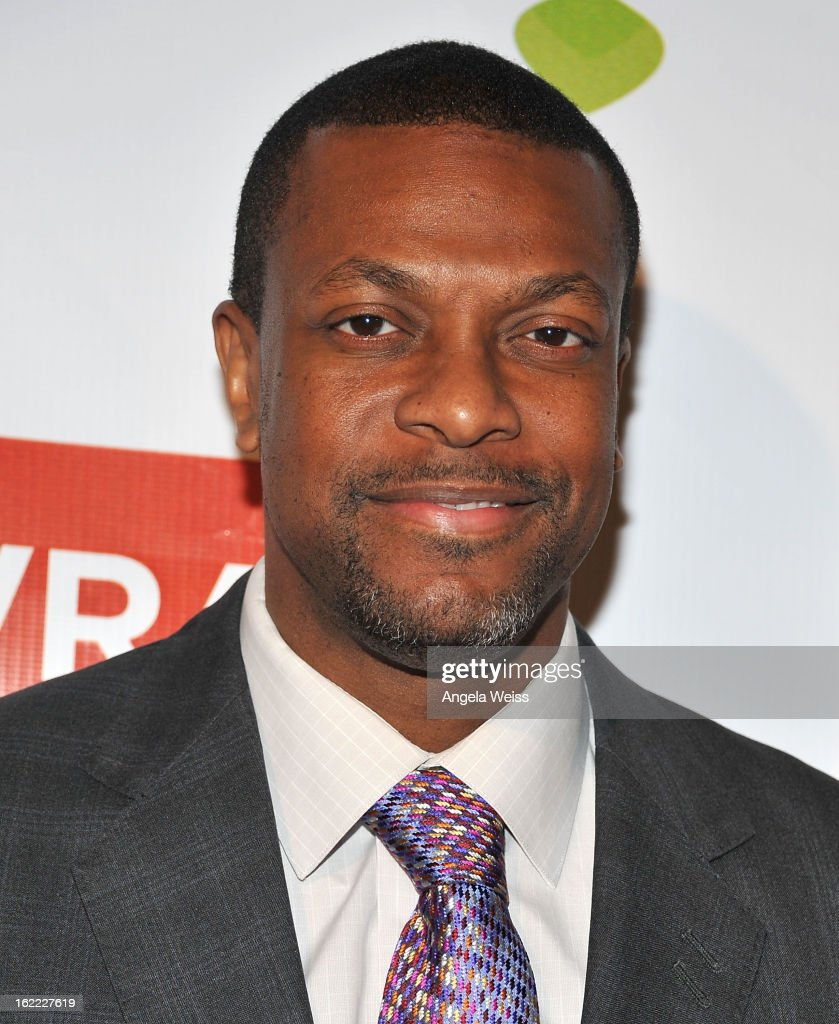 Actor <a gi-track='captionPersonalityLinkClicked' href=/galleries/search?phrase=Chris+Tucker&family=editorial&specificpeople=203254 ng-click='$event.stopPropagation()'>Chris Tucker</a> arrives at TheWrap 4th Annual Pre-Oscar Party at Four Seasons Hotel Los Angeles at Beverly Hills on February 20, 2013 in Beverly Hills, California.