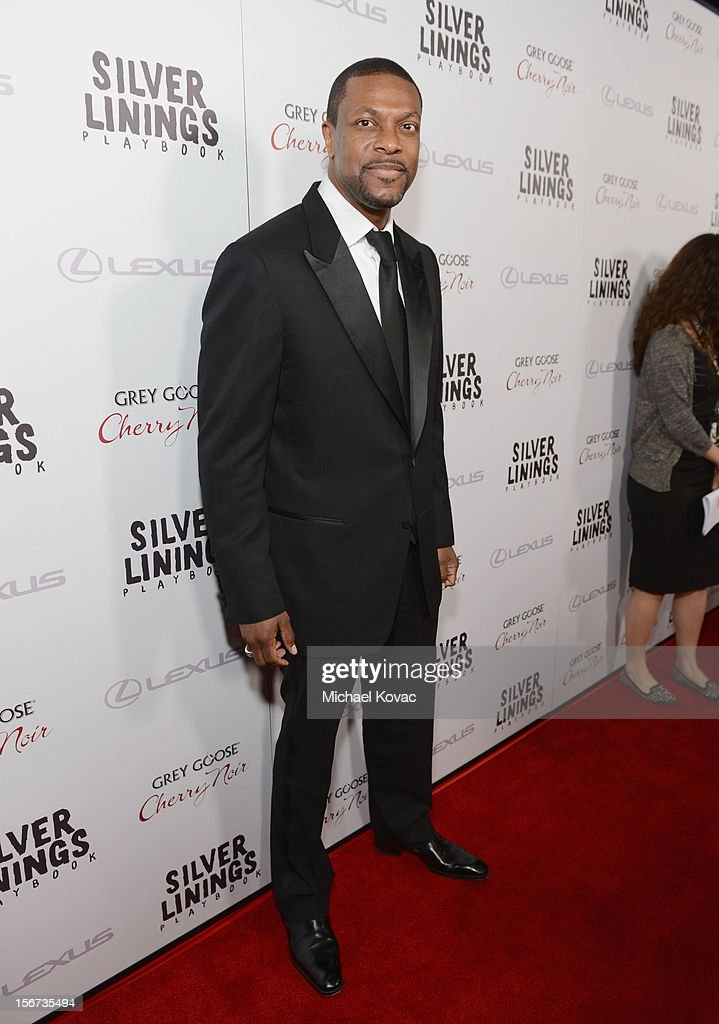 Actor Chris Tucker attends a special screening of 'Silver Linings Playbook' presented by The Weinstein Company sponsored by Grey Goose and Lexus at AMPAS Samuel Goldwyn Theater on November 19, 2012 in Beverly Hills, California.