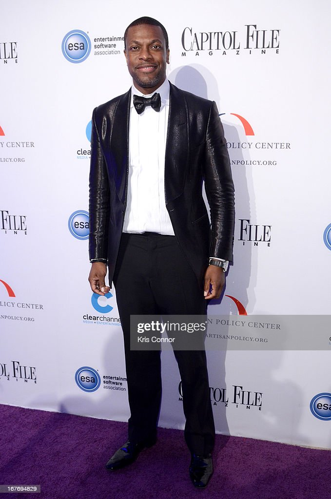 Actor <a gi-track='captionPersonalityLinkClicked' href=/galleries/search?phrase=Chris+Tucker&family=editorial&specificpeople=203254 ng-click='$event.stopPropagation()'>Chris Tucker</a> attends Capitol File's White House Correspondents' Association Dinner after party presented by The Bipartisan Policy Center on April 27, 2013 in Washington, DC.