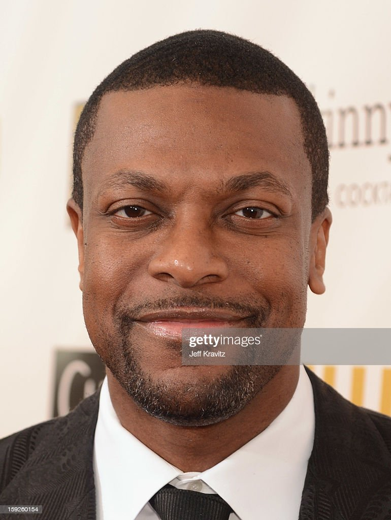 Actor <a gi-track='captionPersonalityLinkClicked' href=/galleries/search?phrase=Chris+Tucker&family=editorial&specificpeople=203254 ng-click='$event.stopPropagation()'>Chris Tucker</a> attends the 18th Annual Critics' Choice Movie Awards at Barker Hangar on January 10, 2013 in Santa Monica, California.