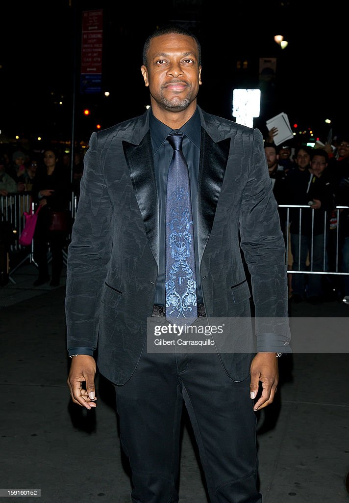 Actor <a gi-track='captionPersonalityLinkClicked' href=/galleries/search?phrase=Chris+Tucker&family=editorial&specificpeople=203254 ng-click='$event.stopPropagation()'>Chris Tucker</a> attends the 2013 National Board Of Review Awards at Cipriani 42nd Street on January 8, 2013 in New York City.