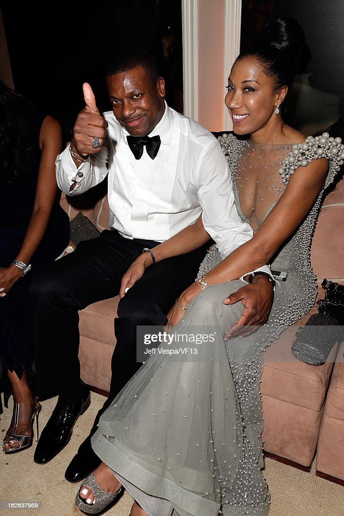 Actor <a gi-track='captionPersonalityLinkClicked' href=/galleries/search?phrase=Chris+Tucker&family=editorial&specificpeople=203254 ng-click='$event.stopPropagation()'>Chris Tucker</a> attends the 2013 Vanity Fair Oscar Party hosted by Graydon Carter at Sunset Tower on February 24, 2013 in West Hollywood, California.