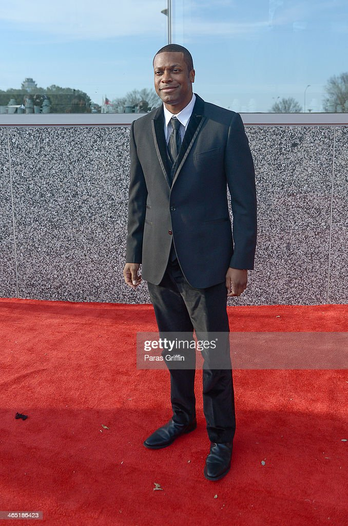 Actor <a gi-track='captionPersonalityLinkClicked' href=/galleries/search?phrase=Chris+Tucker&family=editorial&specificpeople=203254 ng-click='$event.stopPropagation()'>Chris Tucker</a> attends the 2014 Trumpet Awards at Cobb Energy Performing Arts Center on January 25, 2014 in Atlanta, Georgia.