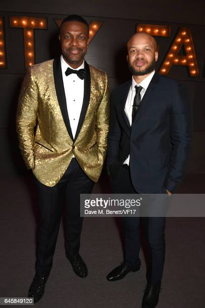 Actor Chris Tucker attends the 2017 Vanity Fair Oscar Party hosted by Graydon Carter at Wallis Annenberg Center for the Performing Arts on February...