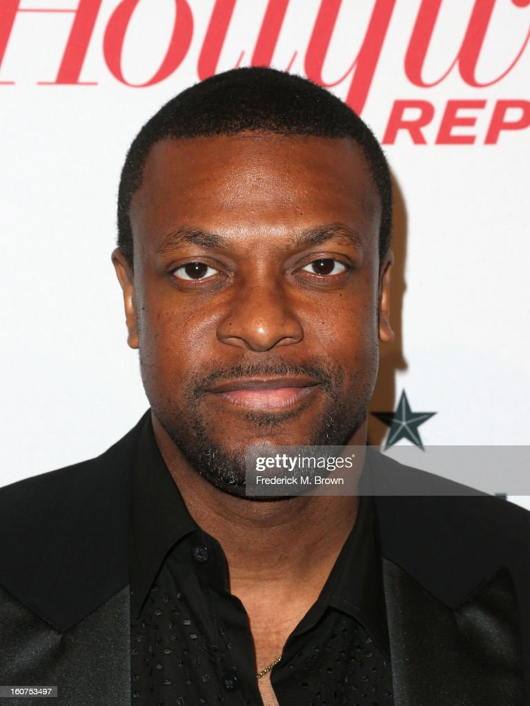Actor <a gi-track='captionPersonalityLinkClicked' href=/galleries/search?phrase=Chris+Tucker&family=editorial&specificpeople=203254 ng-click='$event.stopPropagation()'>Chris Tucker</a> attends The Hollywood Reporter Nominees' Night 2013 Celebrating The 85th Annual Academy Award Nominees at Spago on February 4, 2013 in Beverly Hills, California.