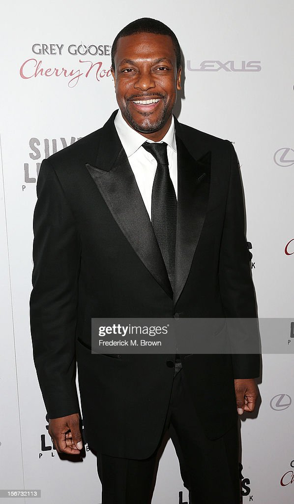 Actor <a gi-track='captionPersonalityLinkClicked' href=/galleries/search?phrase=Chris+Tucker&family=editorial&specificpeople=203254 ng-click='$event.stopPropagation()'>Chris Tucker</a> attends the Screening Of The Weinstein Company's 'Silver Linings Playbook' at The Academy of Motion Pictures Arts and Sciences on November 19, 2012 in Beverly Hills, California.