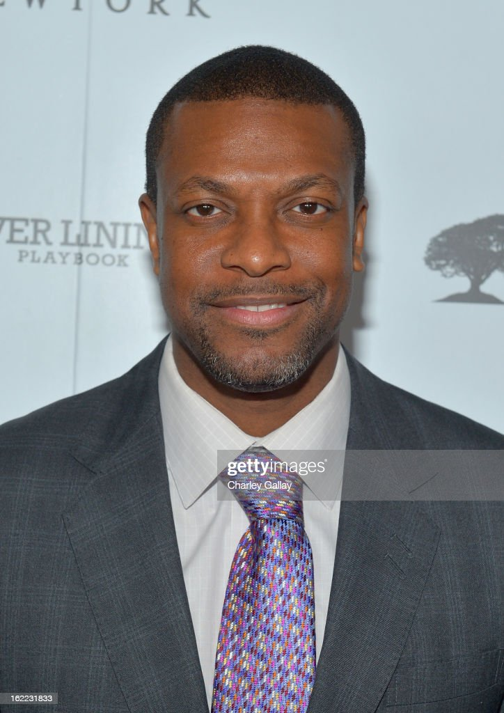 Actor <a gi-track='captionPersonalityLinkClicked' href=/galleries/search?phrase=Chris+Tucker&family=editorial&specificpeople=203254 ng-click='$event.stopPropagation()'>Chris Tucker</a> attends the Vanity Fair, Barneys New York and The Weinstein Company celebration of 'Silver Linings Playbook' in support of The Glenholme School on February 20, 2013 in Los Angeles, California