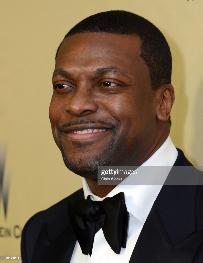 Actor <a gi-track='captionPersonalityLinkClicked' href=/galleries/search?phrase=Chris+Tucker&family=editorial&specificpeople=203254 ng-click='$event.stopPropagation()'>Chris Tucker</a> attends The Weinstein Company's 2013 Golden Globe Awards after party presented by Chopard, HP, Laura Mercier, Lexus, Marie Claire, and Yucaipa Films held at The Old Trader Vic's at The Beverly Hilton Hotel on January 13, 2013 in Beverly Hills, California.