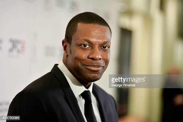 Actor Chris Tucker is honoured by the Canadian Film Centre to celebrate Black History Month at Cineplex Odeon Varsity and VIP Cinemas on February 24...
