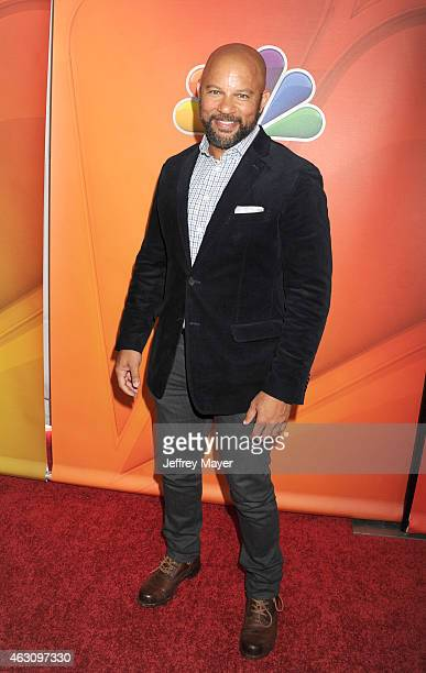 Actor Chris Williams attends the NBCUniversal 2015 Press Tour at the Langham Huntington Hotel on January 16 2015 in Pasadena California