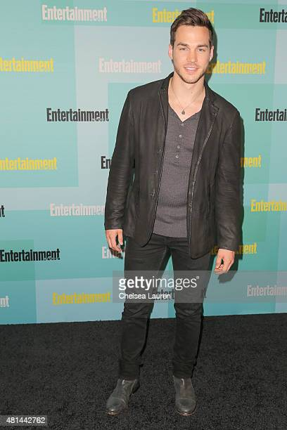 Actor Chris Wood arrives at the Entertainment Weekly celebration at Float at Hard Rock Hotel San Diego on July 11 2015 in San Diego California