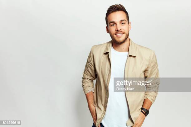 Actor Chris Wood from CW's 'Supergirl' poses for a portrait during ComicCon 2017 at Hard Rock Hotel San Diego on July 22 2017 in San Diego California