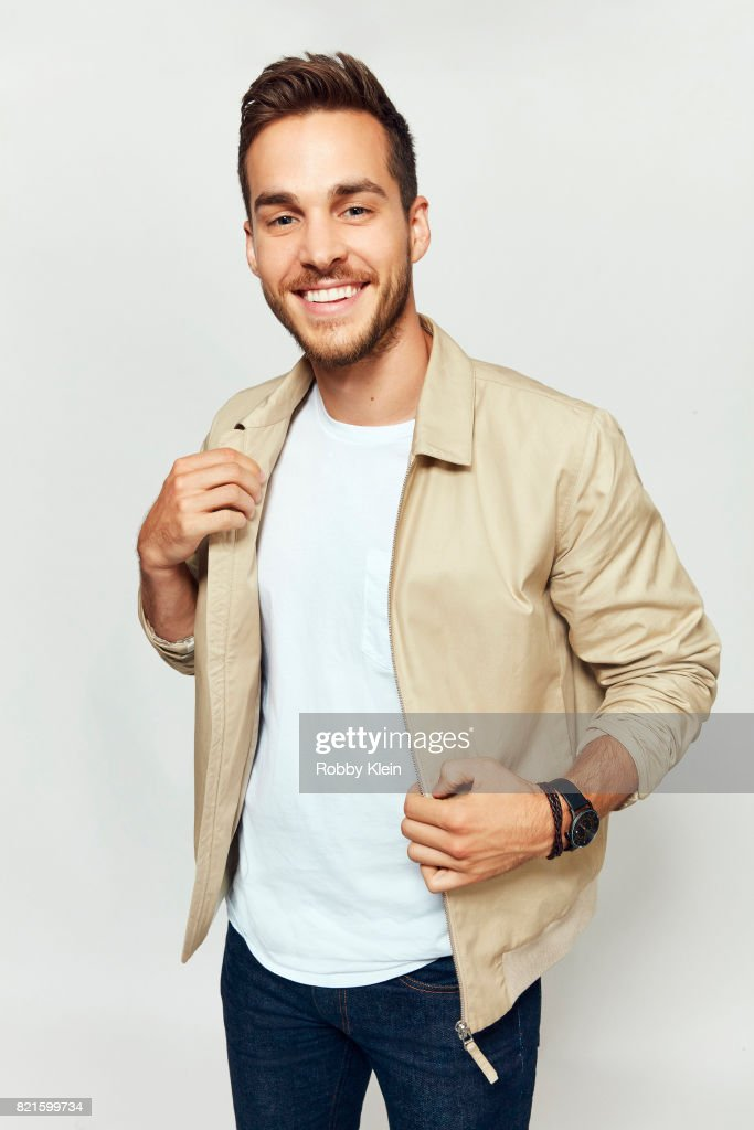 Actor Chris Wood from CW's 'Supergirl' poses for a portrait during Comic-Con 2017 at Hard Rock Hotel San Diego on July 22, 2017 in San Diego, California