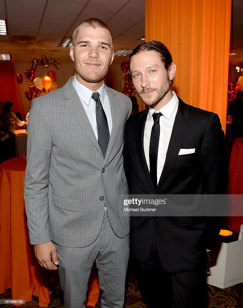 Actor <a gi-track='captionPersonalityLinkClicked' href=/galleries/search?phrase=Chris+Zylka&family=editorial&specificpeople=5863770 ng-click='$event.stopPropagation()'>Chris Zylka</a> and guest attend the 20th Annual Race To Erase MS Gala 'Love To Erase MS' at the Hyatt Regency Century Plaza on May 3, 2013 in Century City, California.