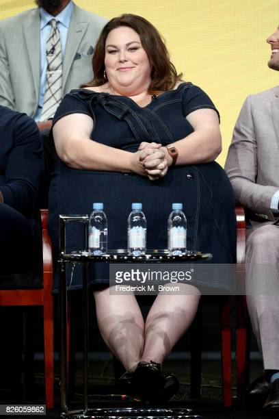 Actor Chrissy Metz of 'This Is Us' speaks onstage during the NBCUniversal portion of the 2017 Summer Television Critics Association Press Tour at The...