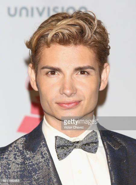 Actor Christian Acosta poses in the press room during The 14th Annual Latin GRAMMY Awards at the Mandalay Bay Events Center on November 21 2013 in...